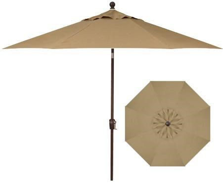 Push Button Market Umbrellas 7.5u0027 Push Button Tilt By Treasure Garden