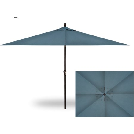 Rectangle Auto Tilt Market Umbrella
