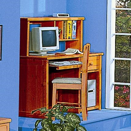 Shown with Computer Desk with Hutch