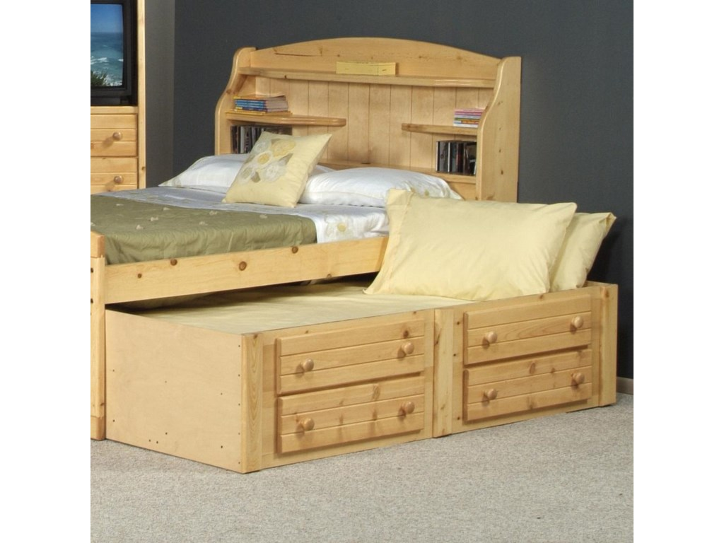 Trendwood BayviewTwin Captain's Trundle