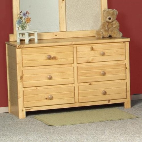Trendwood Bayview Six Drawer Dresser