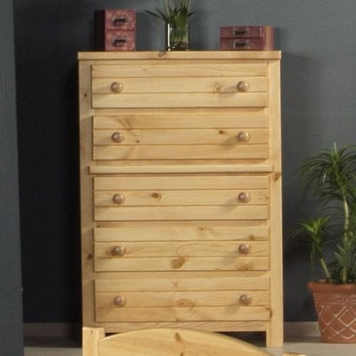 Trendwood Bayview Five Drawer Chest
