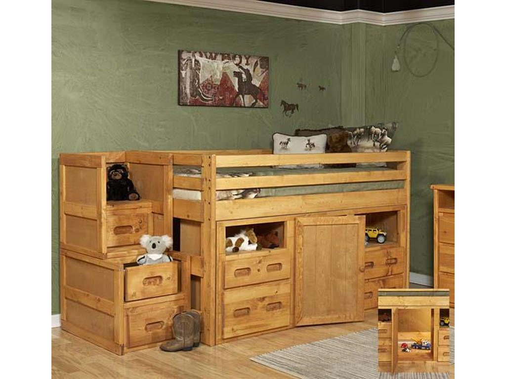 Trendwood BunkhouseJunior Loft Bed with Storage