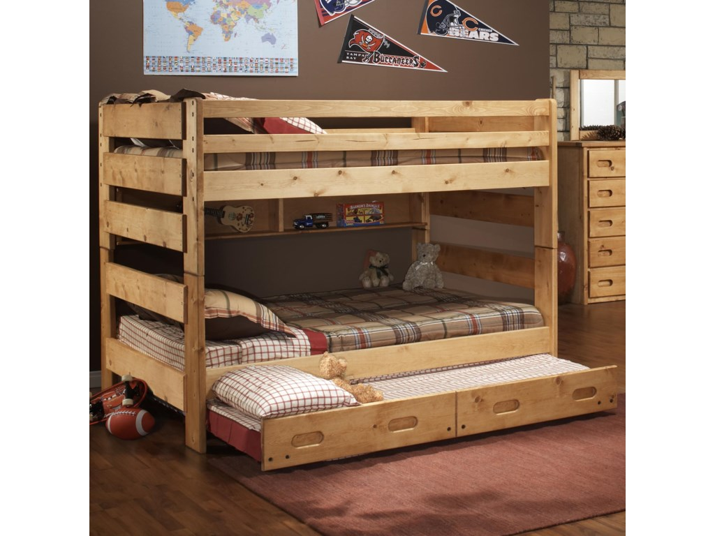 Trendwood BunkhouseFull Big Sky Bunk Bed