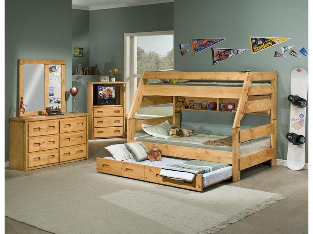 Trendwood BunkhouseTrundle Bed - Twin