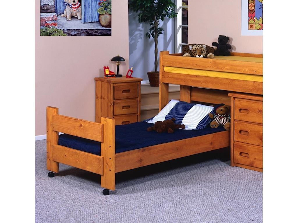 Trendwood BunkhouseTwin Caster Bed
