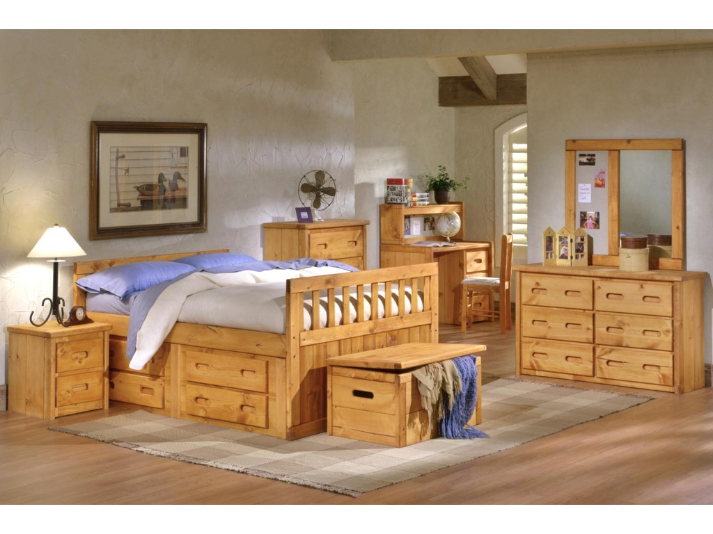 Trendwood Bunkhouse2 Drawer Nightstand