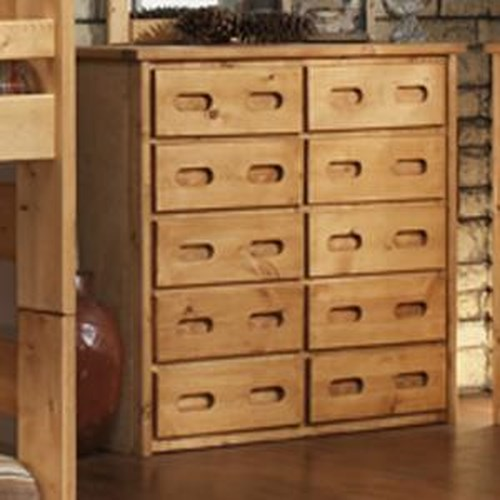 Trendwood Bunkhouse 10 Drawer Mule Chest