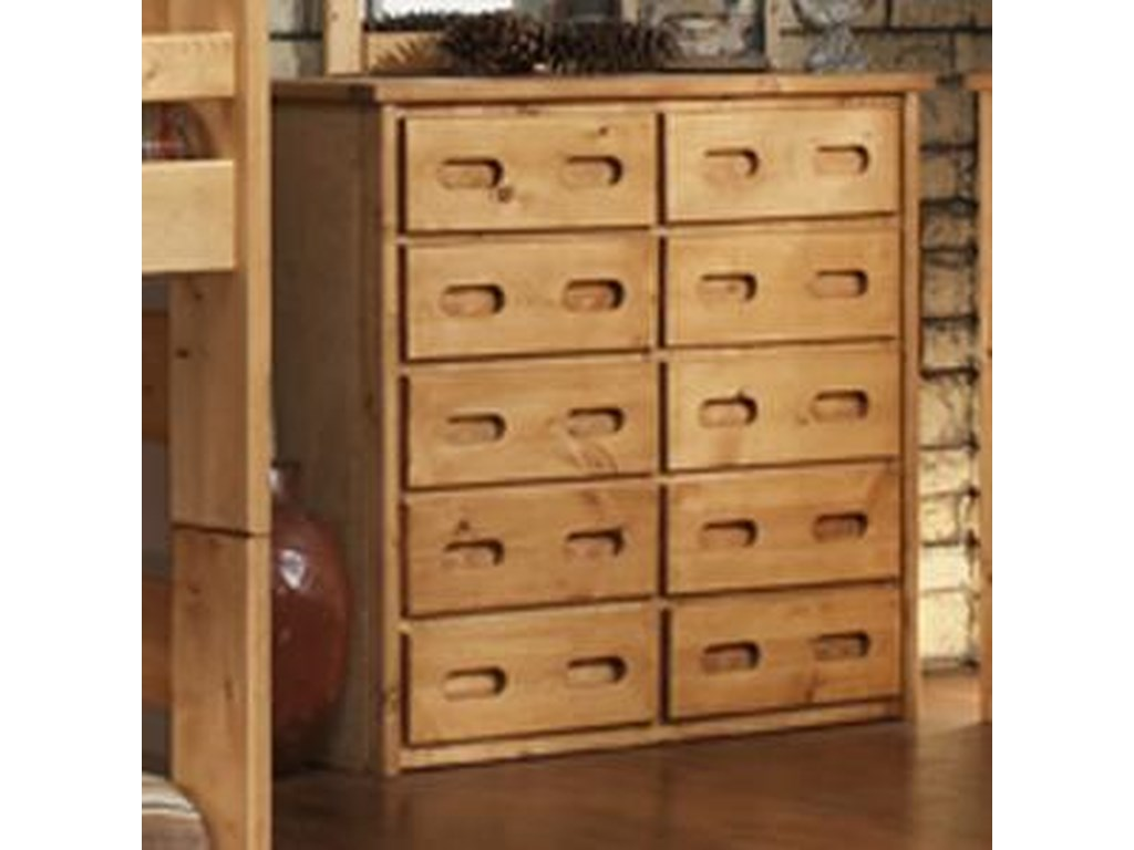 Trendwood Bunkhouse10 Drawer Chest