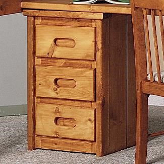 Trendwood Bunkhouse Bunkhouse 3 Drawer Stand   Conlinu0027s Furniture   Night  Stands