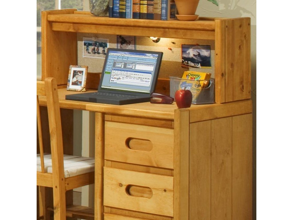 Trendwood BunkhouseStudent Desk Hutch