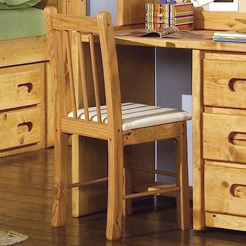 Trendwood Bunkhouse Upholstered Desk Chair