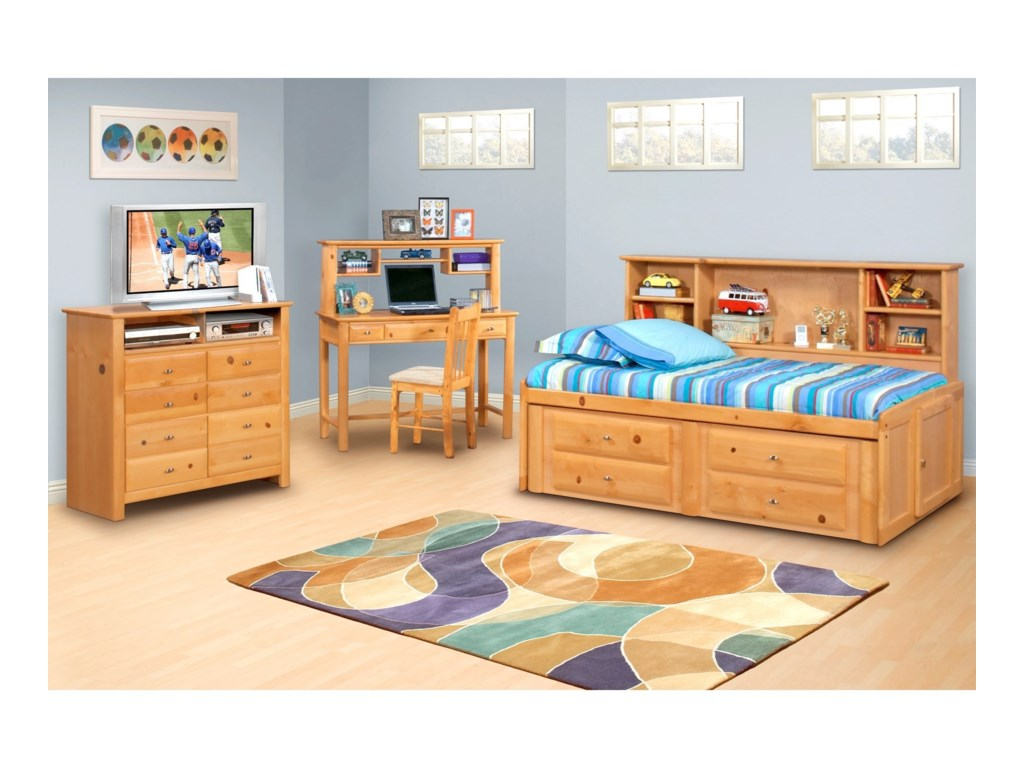 Trendwood Laguna Twin Bed