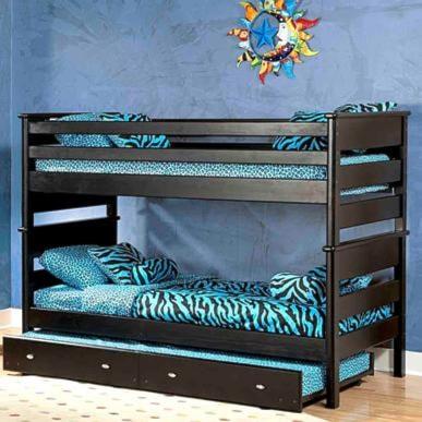 Trendwood Laguna Twin Twin Bunk Bed W Trundle Olinde S Furniture