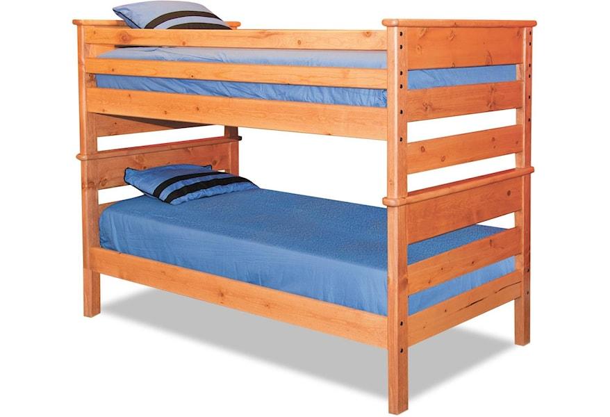 Trendwood Laguna Twin Twin Bunk Bed Homeworld Furniture Bunk Beds