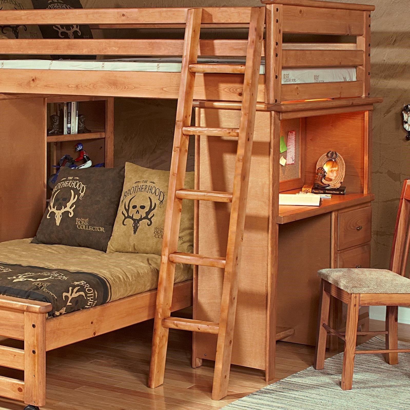 trendwood laguna bunk bed ladder - wayside furniture