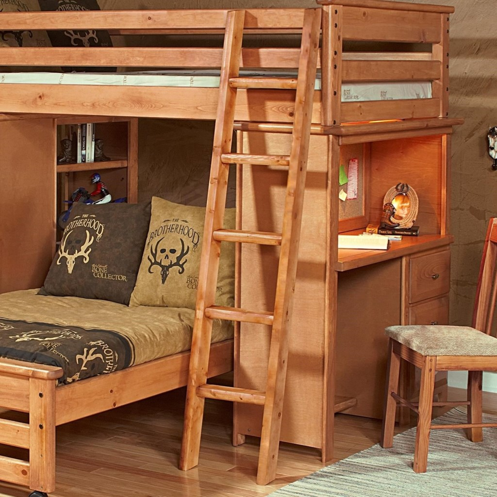 Laguna Bunk Bed Ladder By Trendwood At Homeworld Furniture
