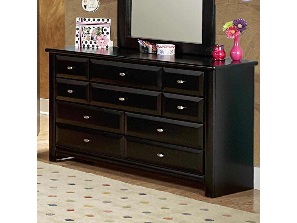 Trendwood Laguna Nine Drawer Dresser