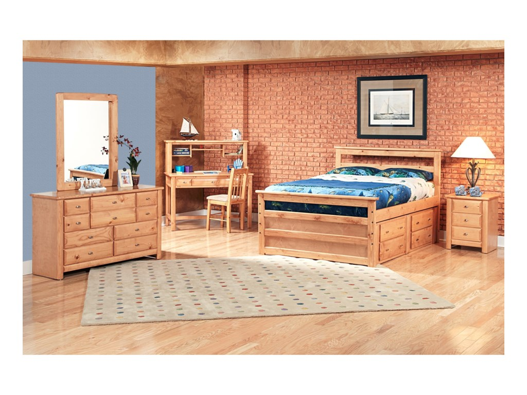 Trendwood Laguna 9 Drawer Dresser