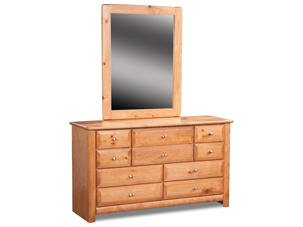 Trendwood Laguna 9 Drawer Dresser