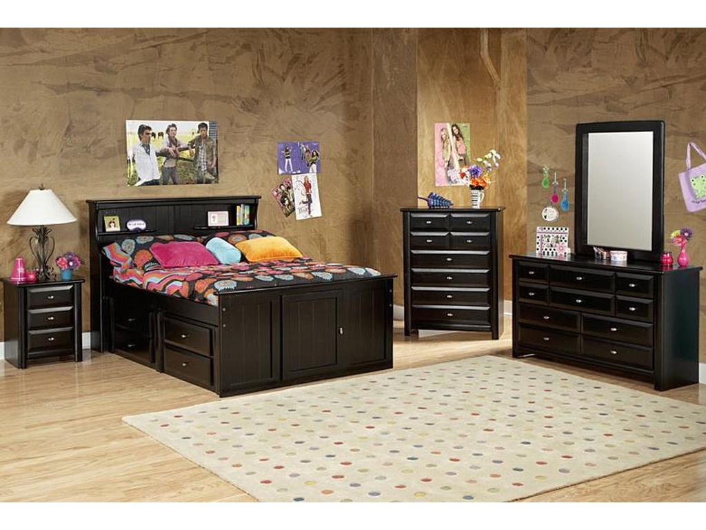 Trendwood Laguna Three Drawer Nightstand