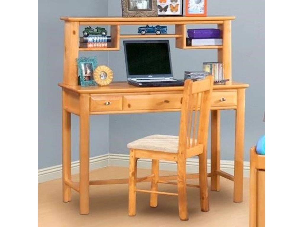 Trendwood Laguna Student Desk and Hutch