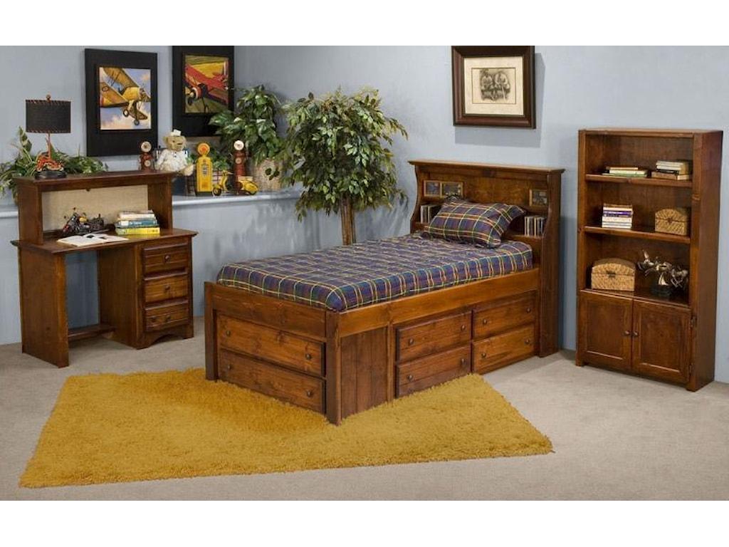 Trendwood Sedona Desk and Hutch Combo