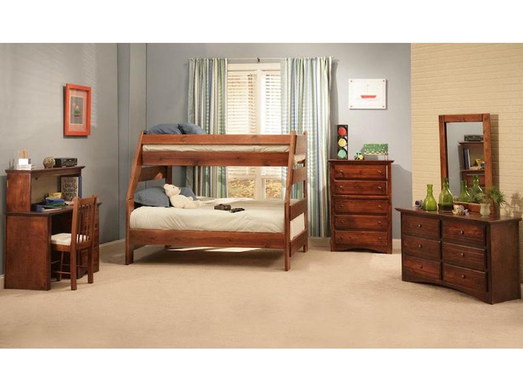 Trendwood Sedona Twin/Full Bunk Bed