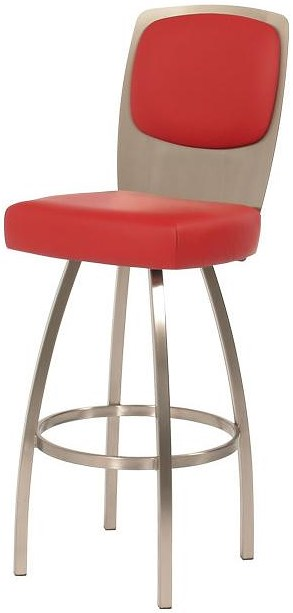 Trica Contemporary Seating Calvin Swivel Bar Stool