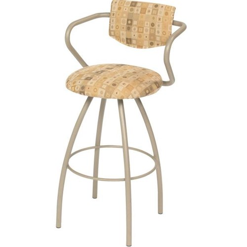 Trica Contemporary Bar Stools Cookie Swivel Bar Stool