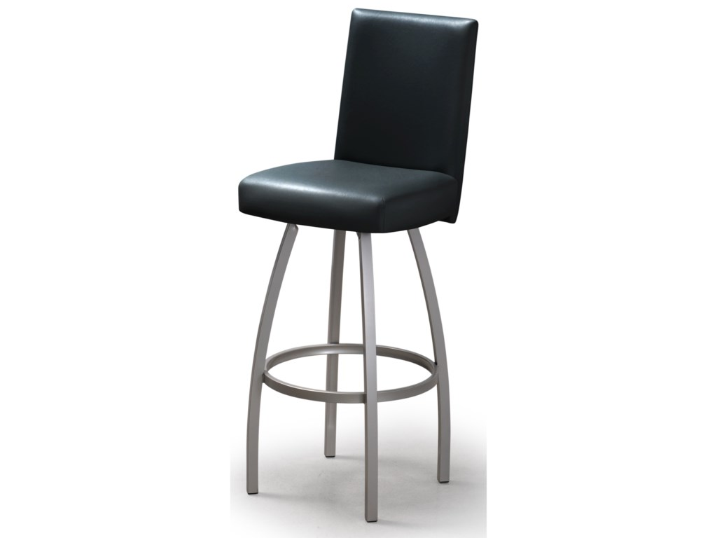 Trica Contemporary Seating Nicholas Swivel Bar Stool Stoney Creek