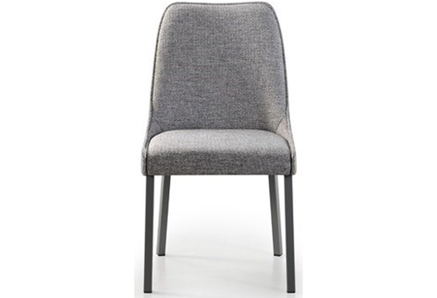 Trica Contemporary Seating Olivia Upholstered Dining Side Chair Stoney Creek Furniture Dining Side Chairs