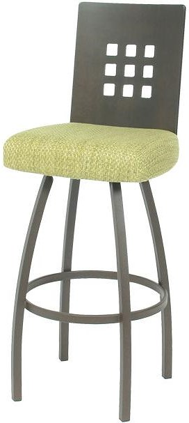 Trica Contemporary Seating Tristan Swivel Bar Stool