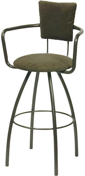 Trica Contemporary Seating Zip Swivel Bar Stool