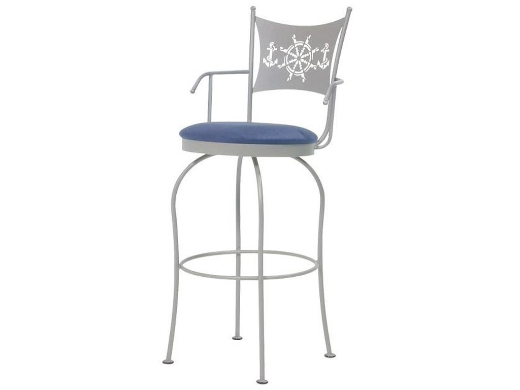 Trica Transitional Bar StoolsArt Collection II Bar Stool