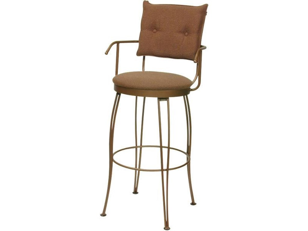 Trica Transitional Bar StoolsBill II Bar Stool