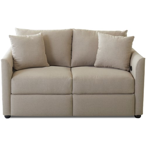 Trisha Yearwood Home Collection by Klaussner Atlanta Power Reclining Loveseat