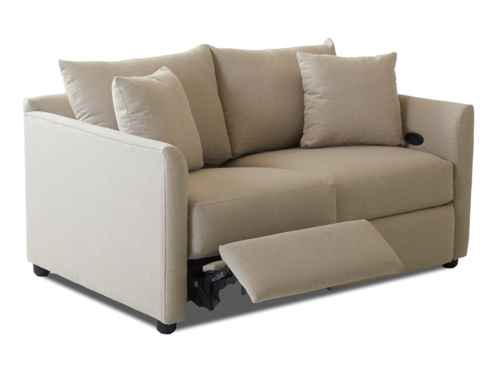 Klaussner AtlantaPower Reclining Loveseat