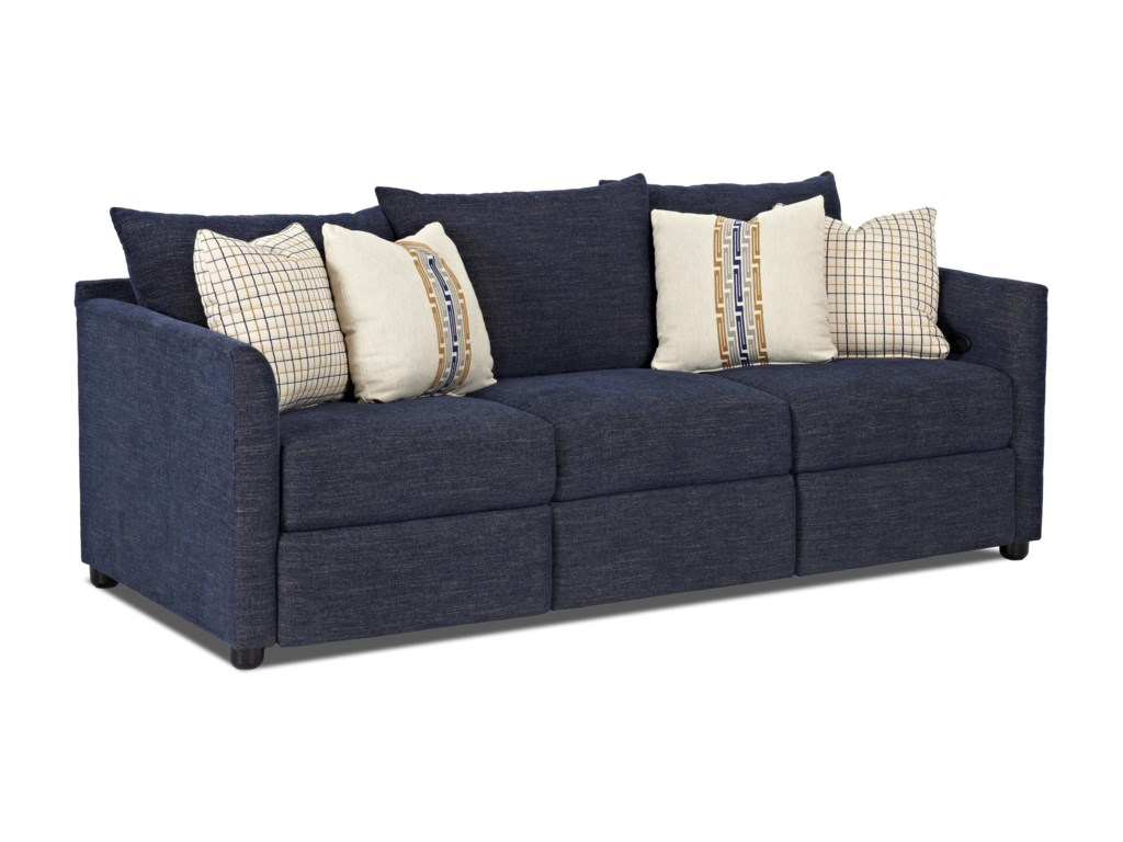 Klaussner AtlantaPower Reclining Sofa
