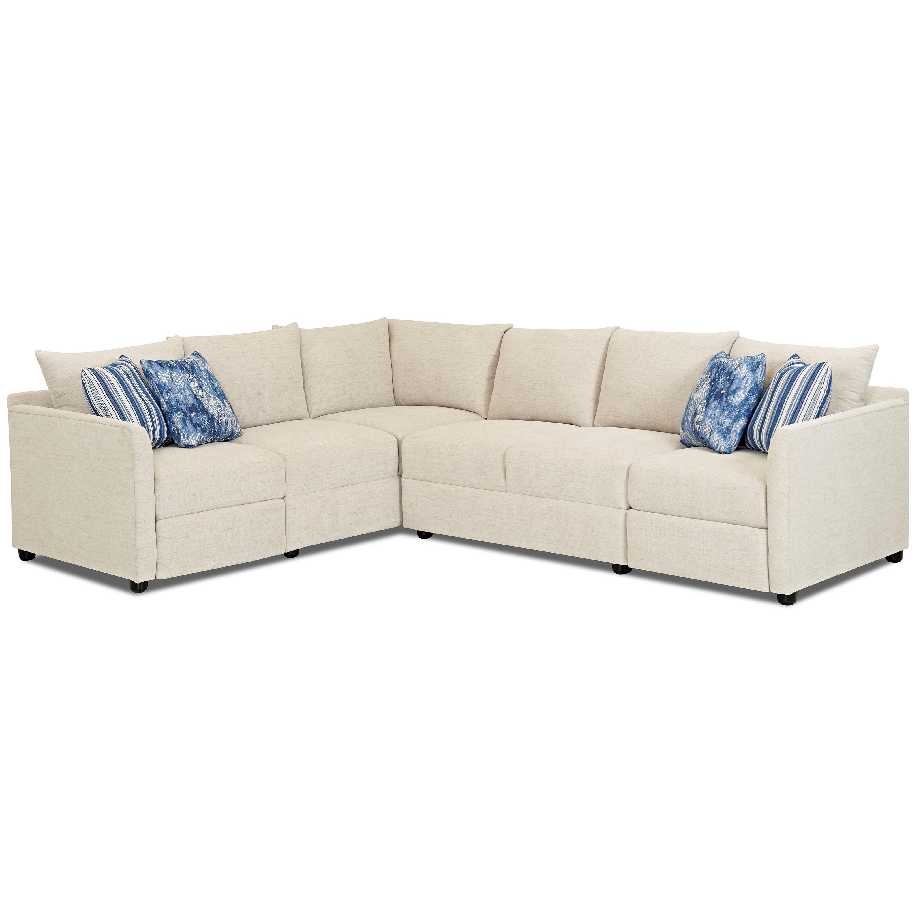 Trisha Yearwood Home Atlanta2 Pc Power Hybrid Reclining Sectional Sofa ...