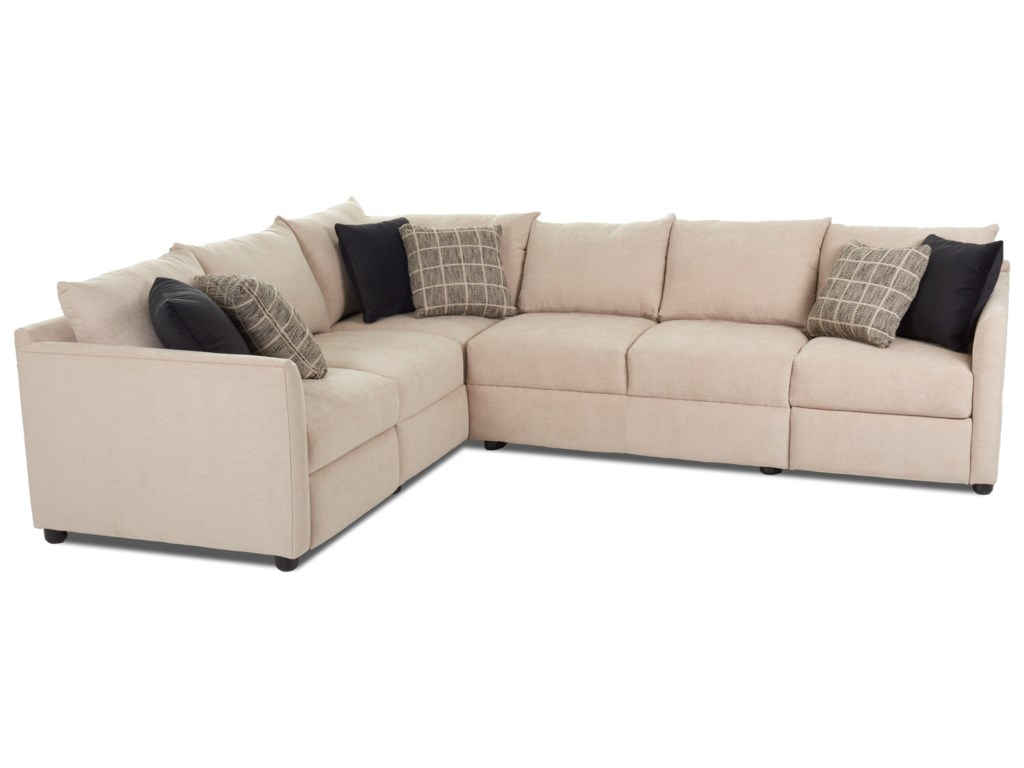 Trisha Yearwood Home Atlanta2 Pc Hybrid Reclining Sectional Sofa