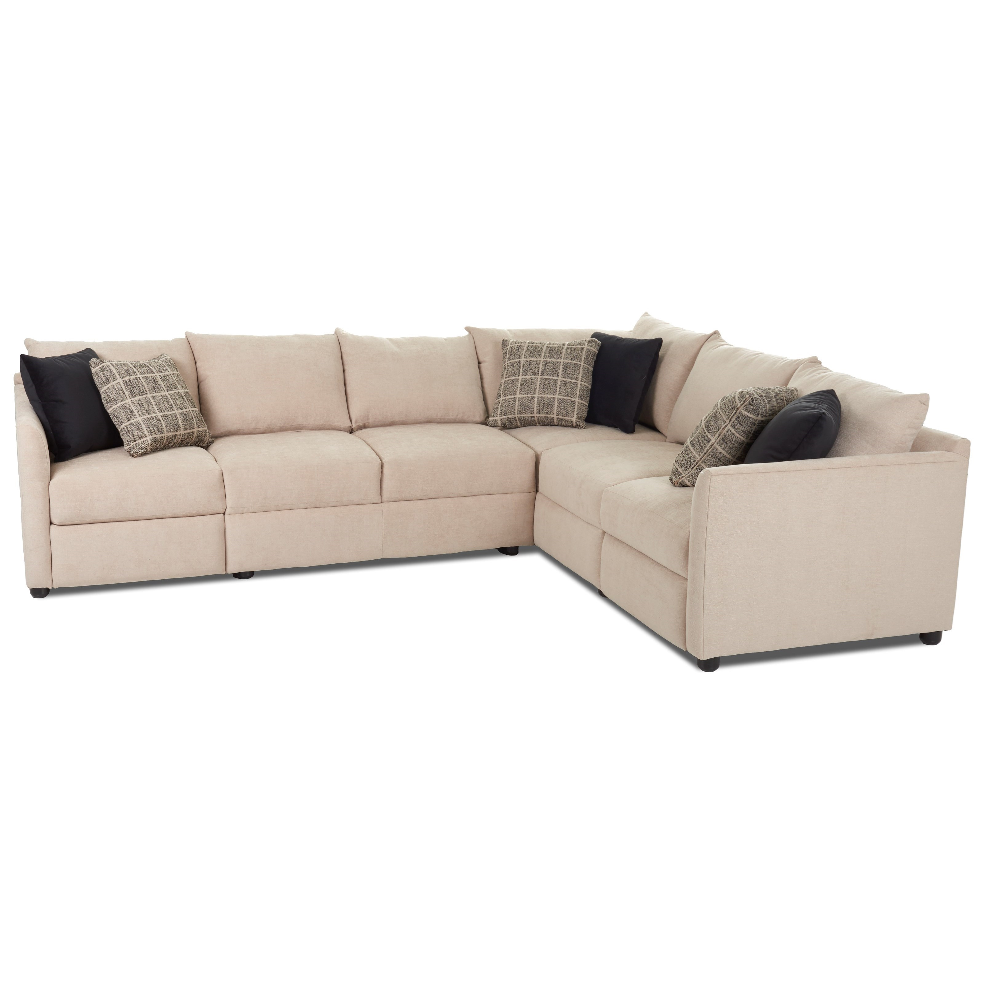 Trisha Yearwood Home Collection By Klaussner Atlanta2 Pc Power Hybrid  Reclining Sectional Sofa ...
