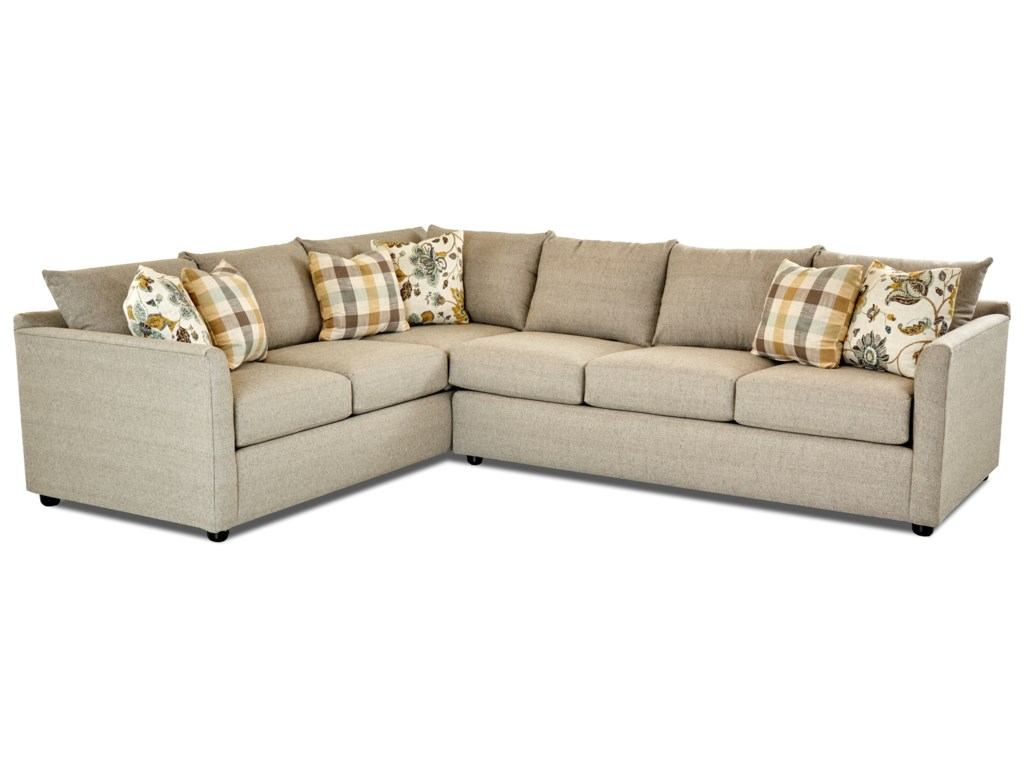 Klaussner AtlantaSectional Sofa