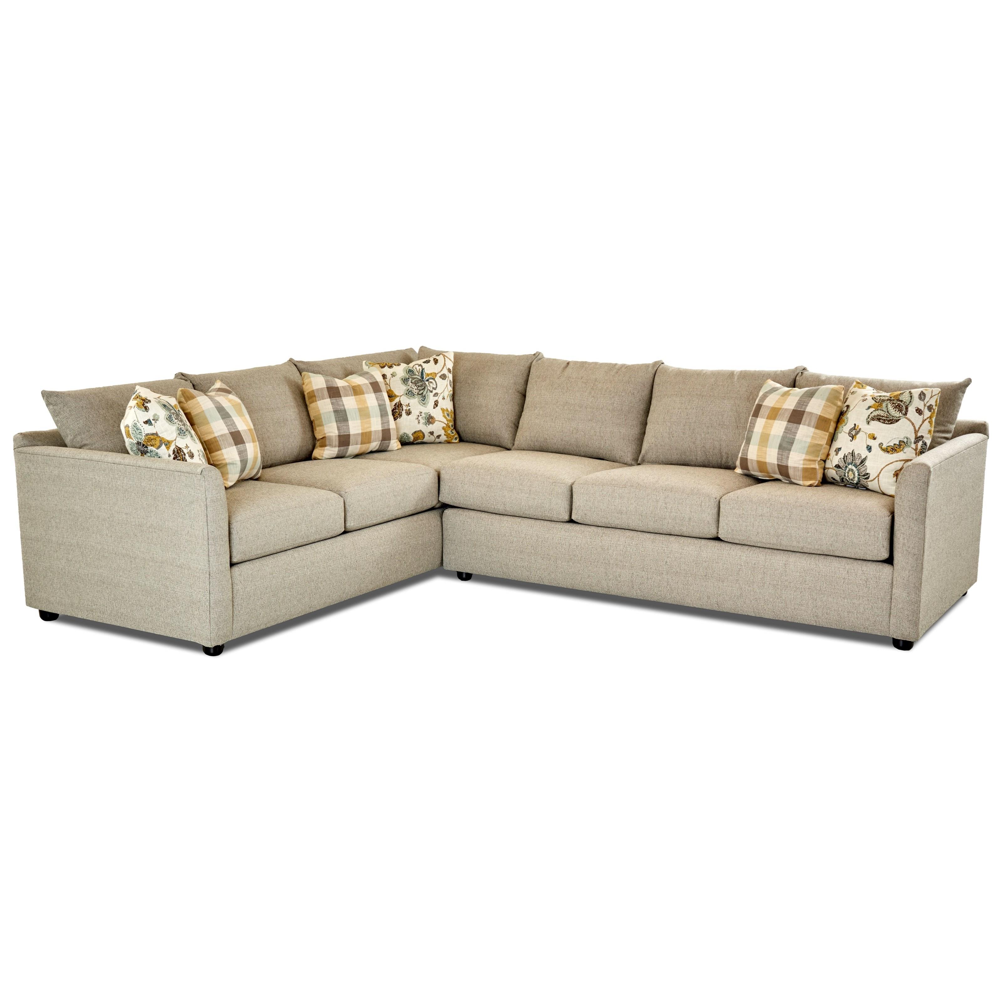 Trisha Yearwood Home Collection By Klaussner AtlantaSectional Sofa