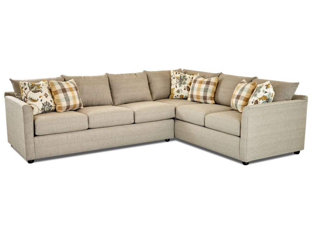 Trisha Yearwood Home Collection By Klaussner Atlantasectional Sofa
