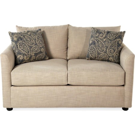 Transitional Style Loveseat