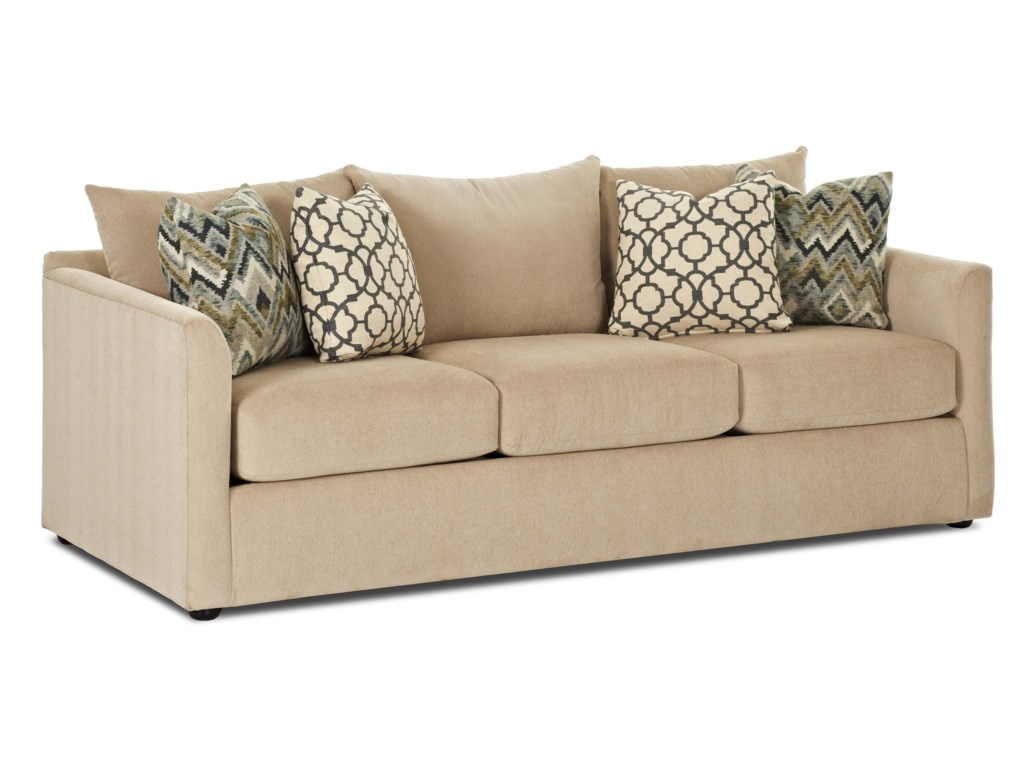 Trisha Yearwood Home Collection by Klaussner AtlantaSleeper Sofa w/ Dreamquest Mattress
