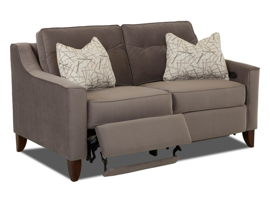 Trisha Yearwood Home Collection by Klaussner AudrinaPower Reclining Loveseat