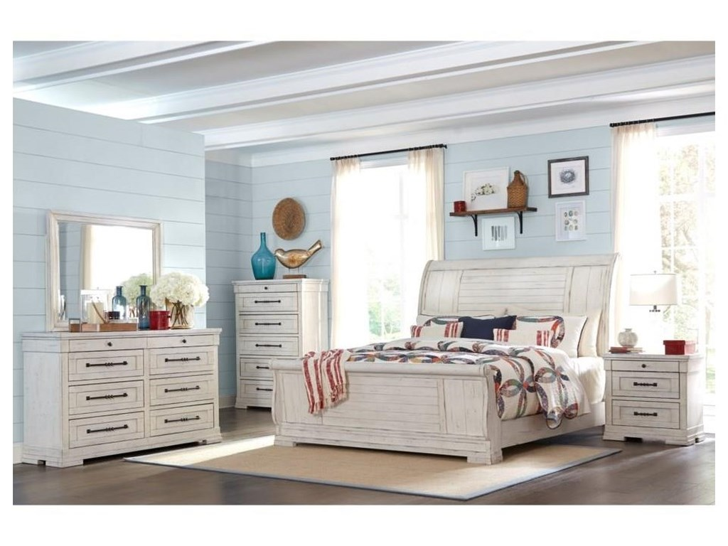 Trisha Yearwood Home Collection by Klaussner Coming HomeQueen Sleigh Bed Package