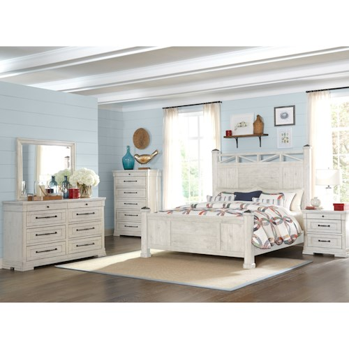 Trisha Yearwood Home Collection by Klaussner Coming Home California King Bedroom Group